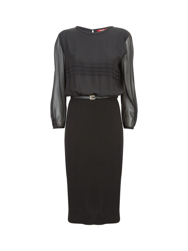 Pedaggi Contrast Jersey Dress