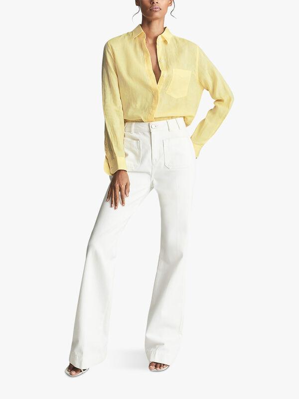 Campbell Linen Relaxed Fit Shirt