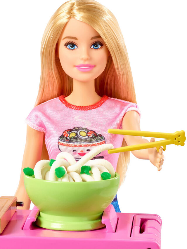 Noodle Maker Doll And Playset