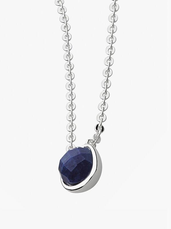 Coast Pebble Lapis Lazuli Mini Necklace