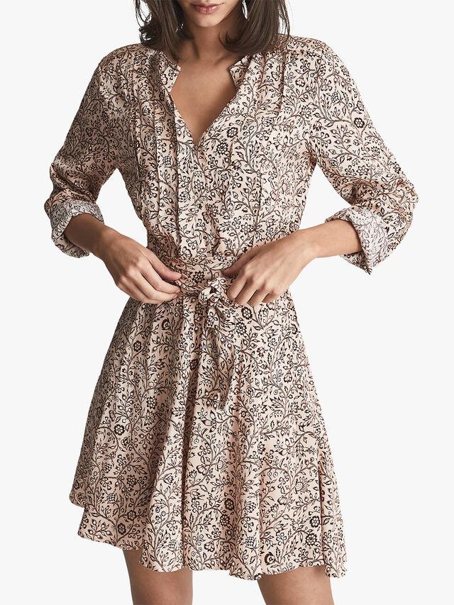 Billie Paisley Printed Mini Dress