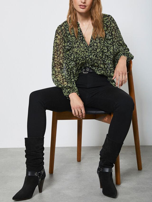 Maryland Black Skinny Jeans