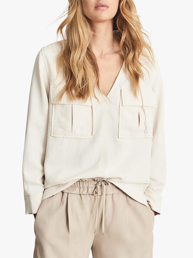 Fleur Twin Pocket Overhead Shirt