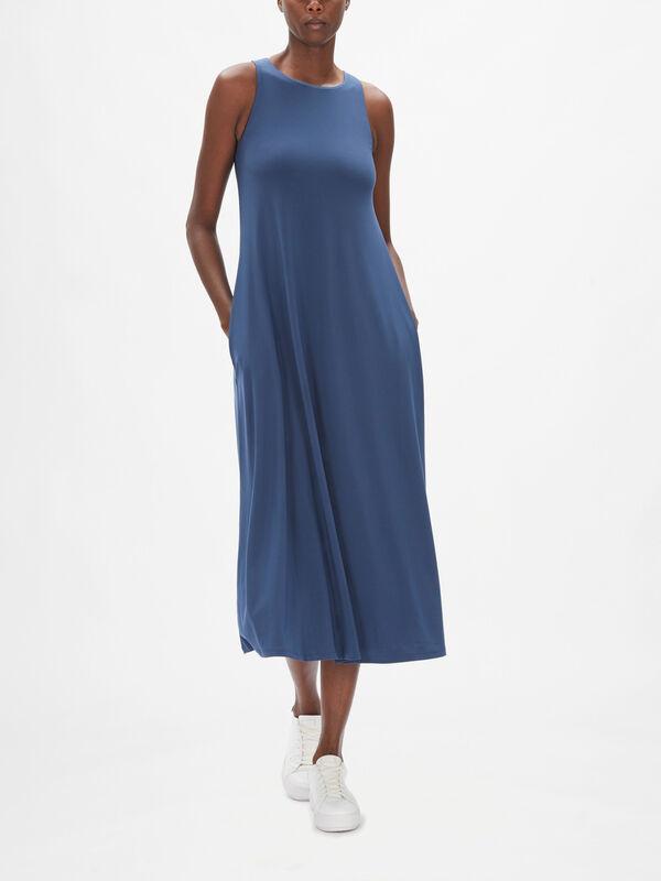 Leisure Fischio A-Line Maxi Dress