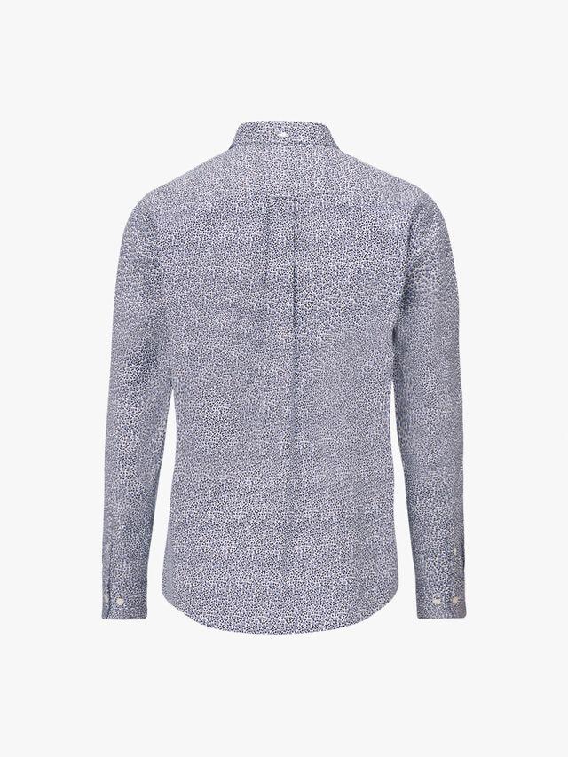 Rose Dot Print Regular Shirt