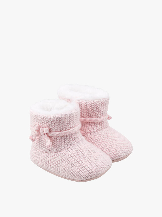 Knitted Star Booties