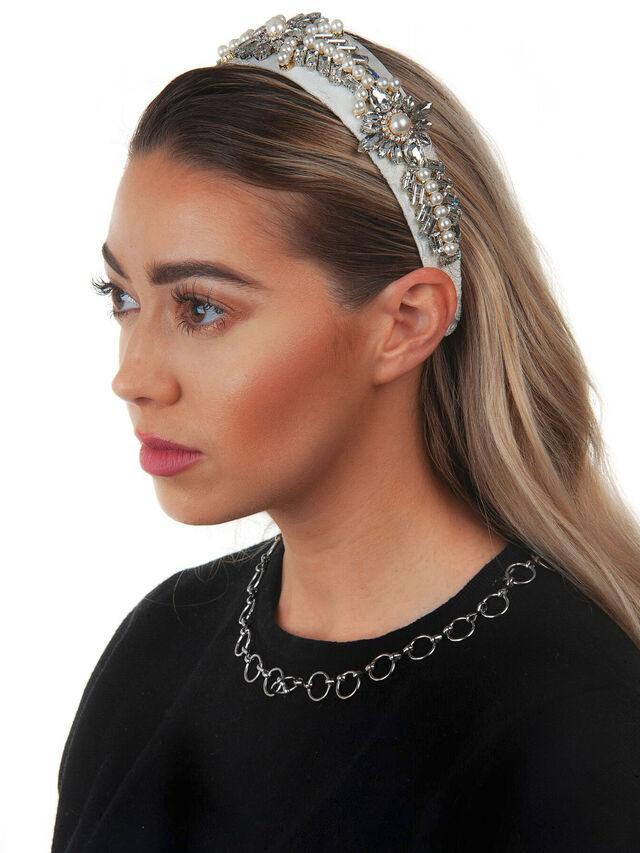 Embellished Wide Crown Headband