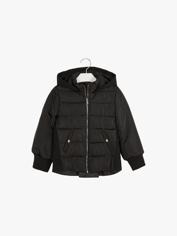 Drop Hem Jacket