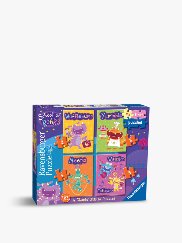 School of Roars First Jigsaw Puzzles Set of 4