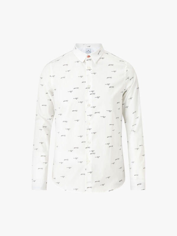 Cheetah Allover Slim Shirt