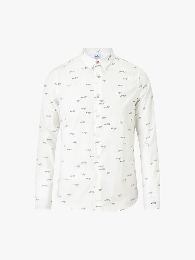 Cheetah Allover Slim Shirt