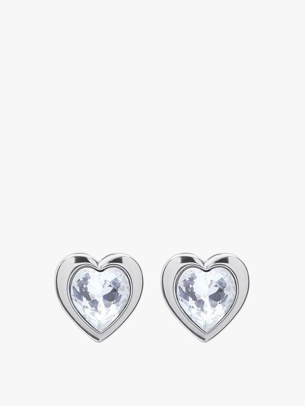 Han Crystal Heart Earrings