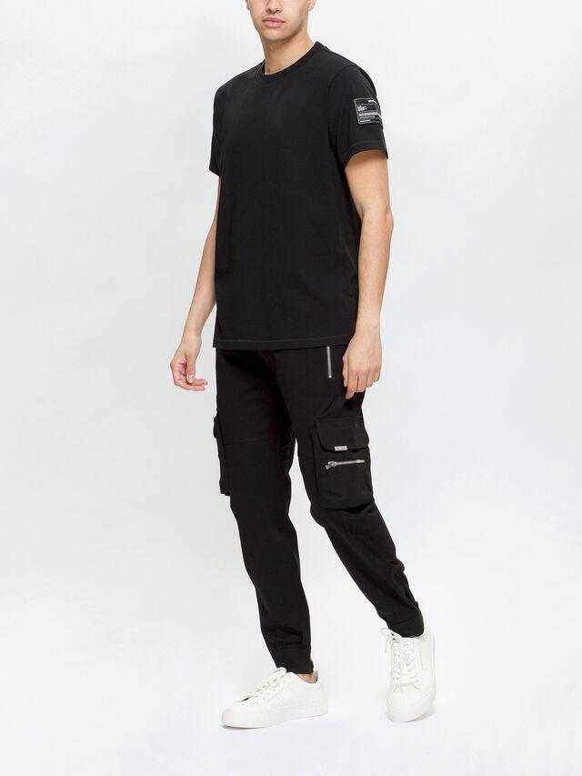 Patch Crewneck T-Shirt