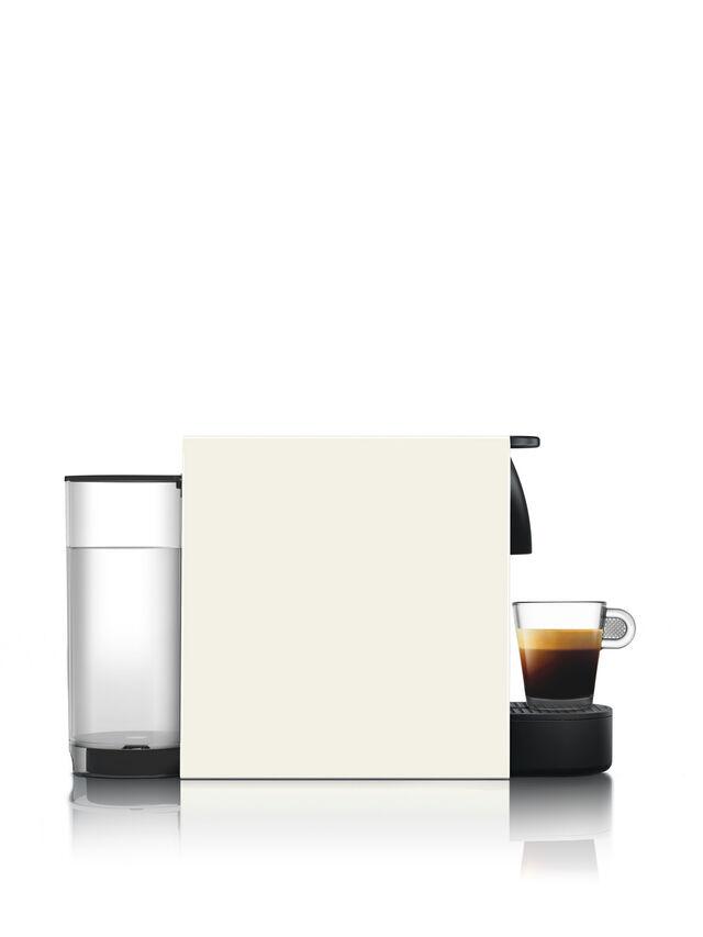 Krups Nespresso Essenza Mini Coffee Machine with Aeroccino3 White