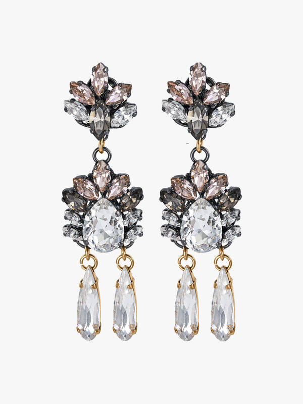 Omega Clasp Drop Earrings