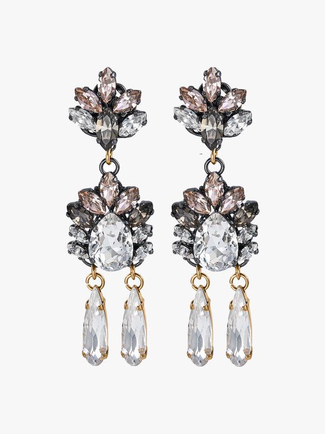 Omega Clasp Drop Earrings