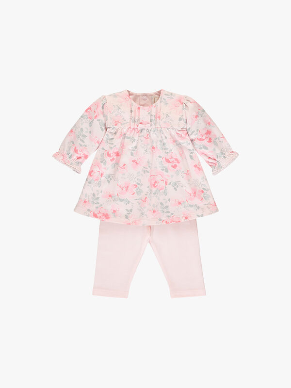 Tunic Floral Top & Leggings