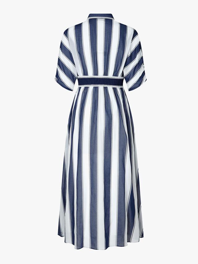 Anversa Stripe Print Dress