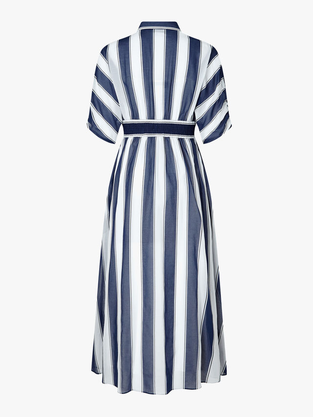 Anversa Stripe Print Dress