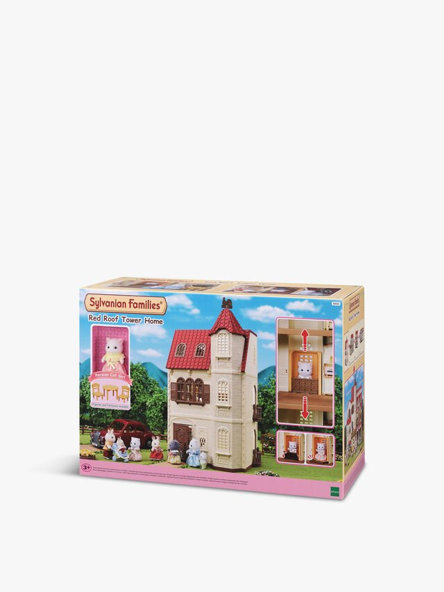 Red Roof Tower Home Gift Set