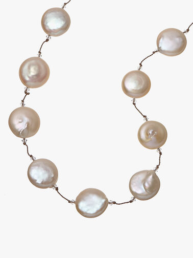 Freshwater Pearl Swarovski Necklace