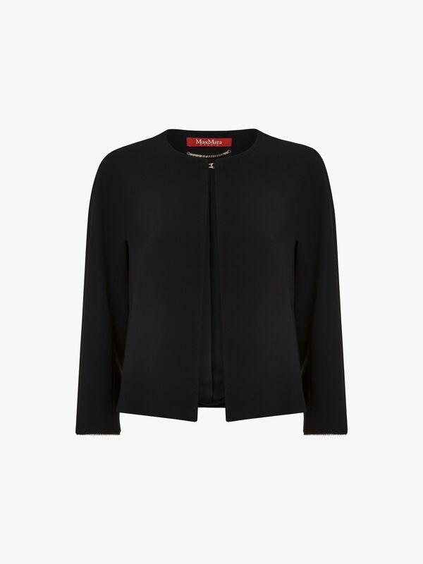 Janzir Hem Detail Short Jacket