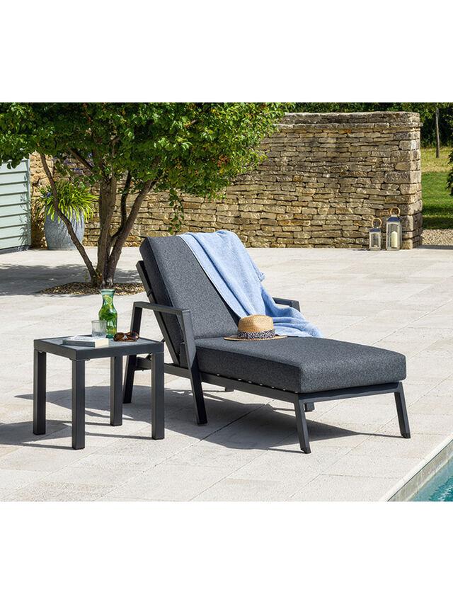 La Rochelle Lounger including Slate Cushion