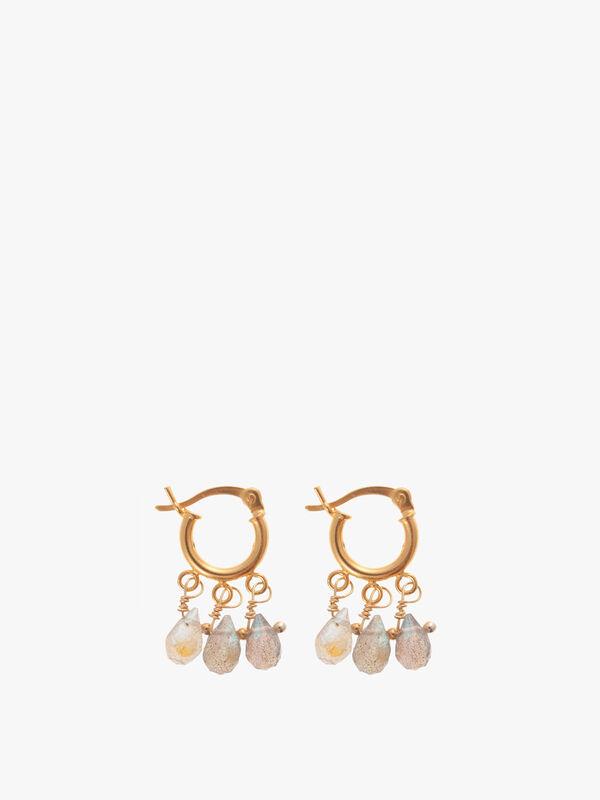 Mini Beaded Earrings