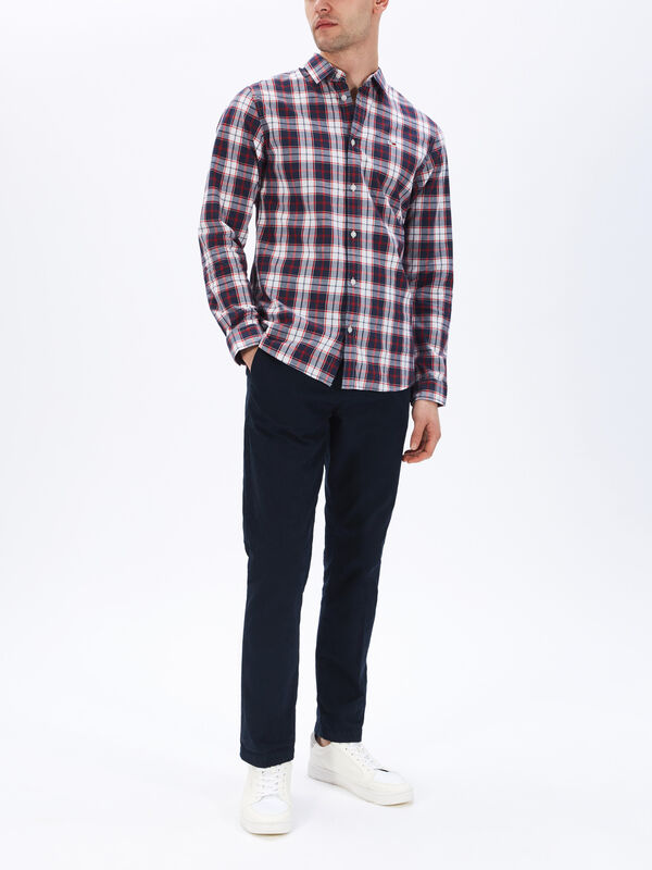 Poplin Multi Check Shirt