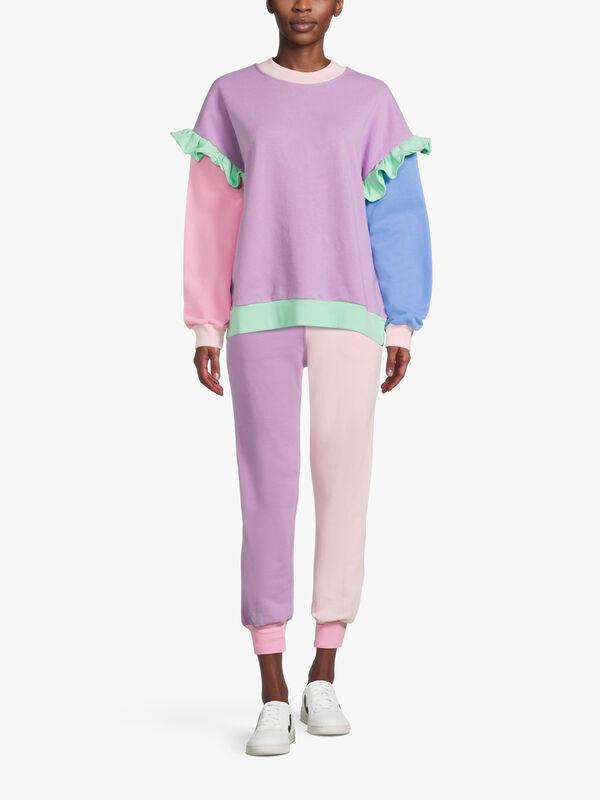 Bridget Colour Blocking Sweatshirt