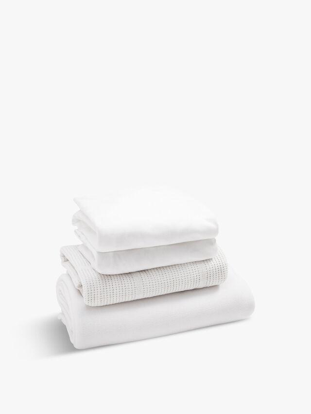 Starter Bedding Set White