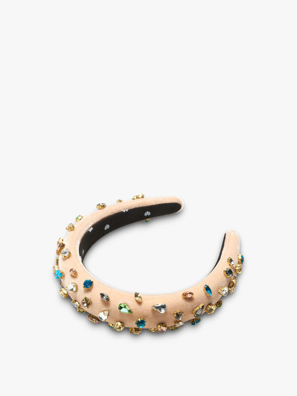 Padded Candy Jewelled Headband