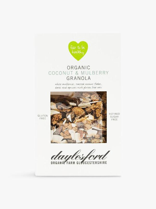 Organic Coconut & Mulberry Granola 350g