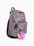 Rainbow Leopard Mini Backpack