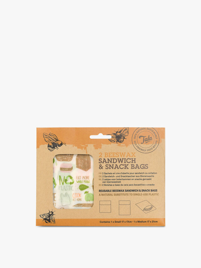 Zero Waste Sandwich Snack Bag 2 Piece