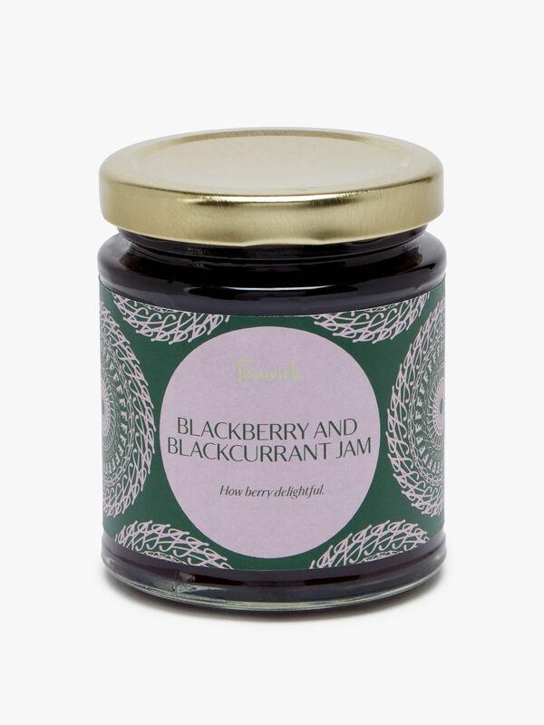 Blackberry and Blackcurrant Jam 227g