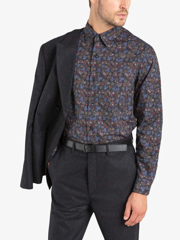 andy shirt with floral print
