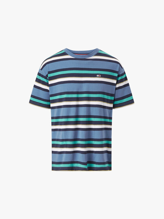 Multi Stripe Relaxed Fit T-Shirt