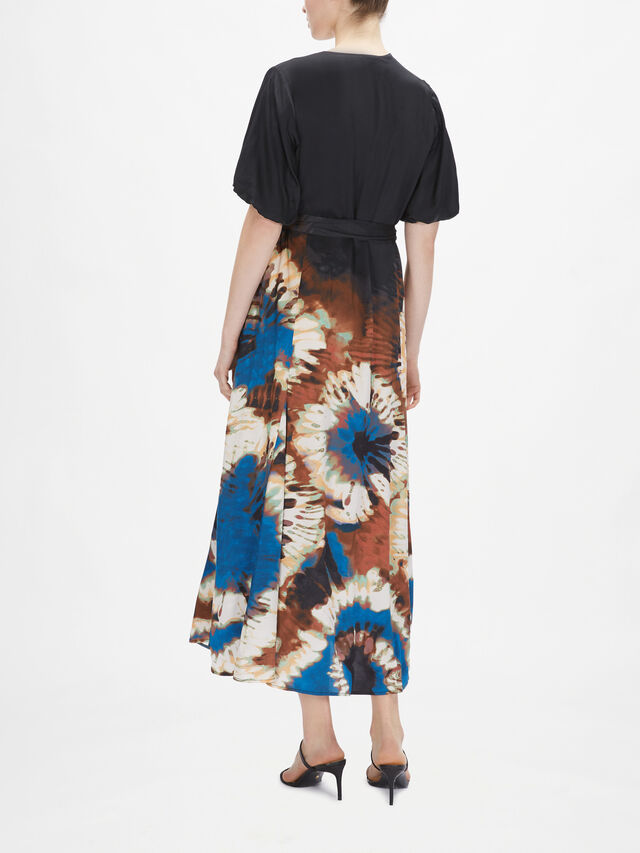 Milfoil Tie Dye Maxi Dress
