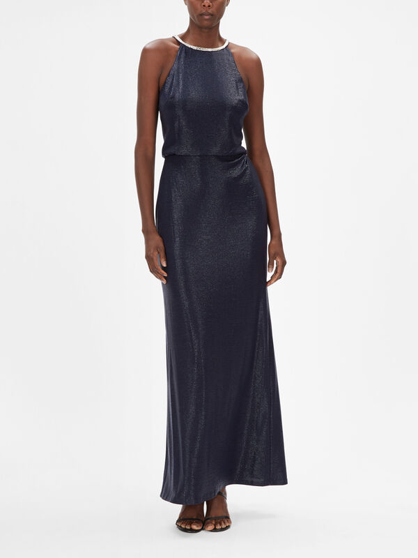 Kiara Sleeveleless Stretch Evening Dress