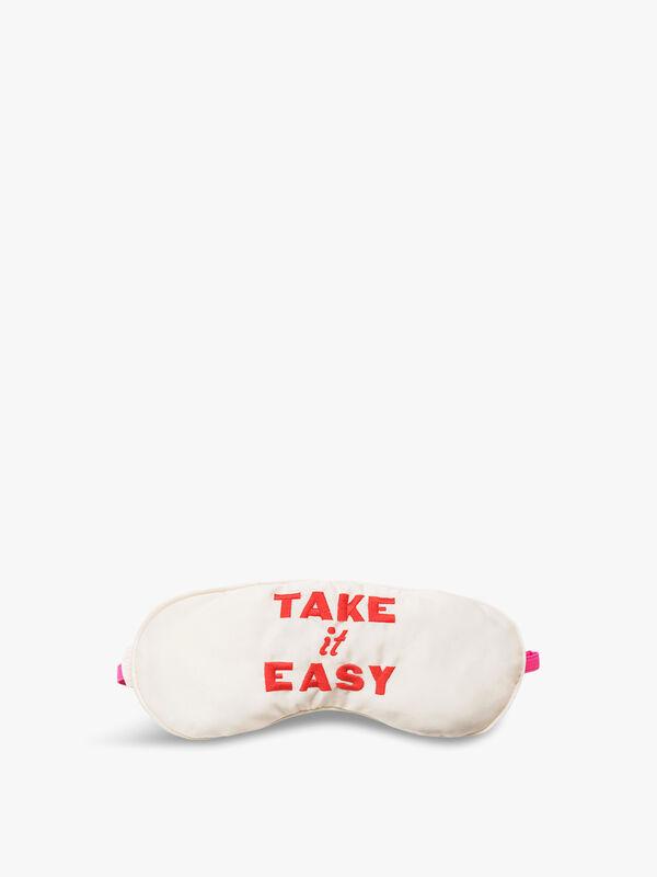 Take it Easy Eye Mask