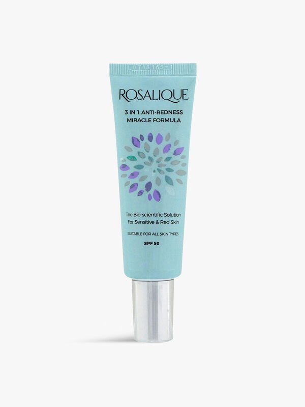 Rosalique 3 in 1 Anti-Redness Miracle Formula SPF 50