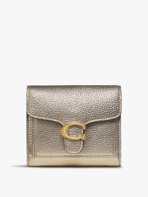 Metallic Tabby Small Wallet