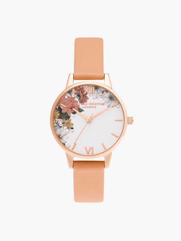 Sparkle Florals Midi Watch