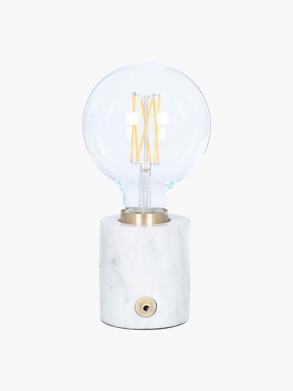 Marble Gold Bulb Holder