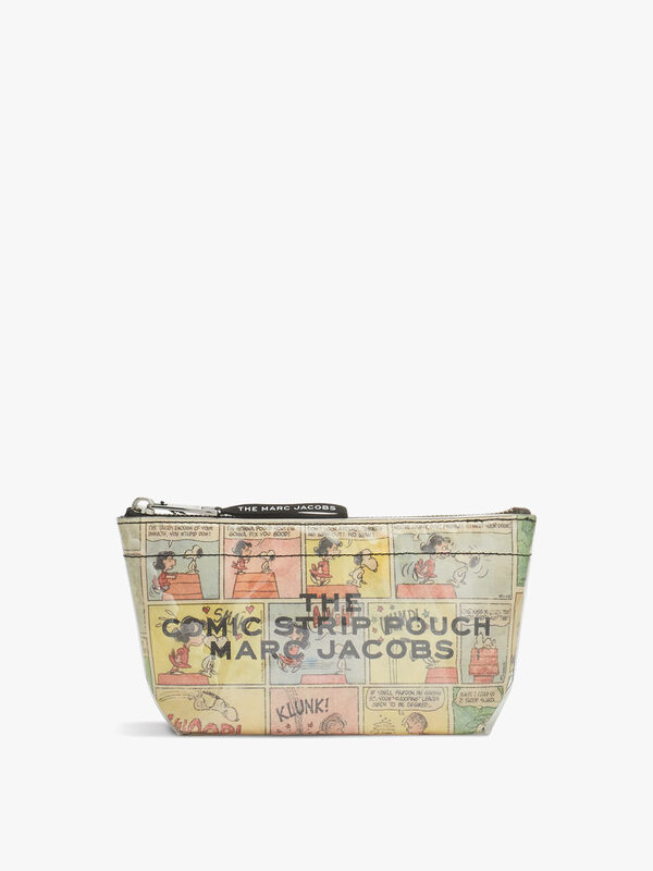 Comic Strip Large Cosmetic Pouch
