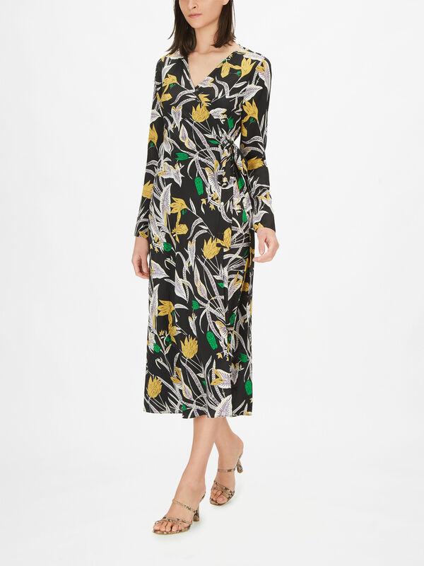 Tilly Long Sleeve Floaty Maxi Dress