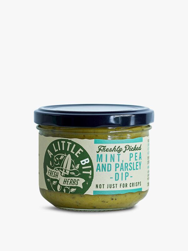Fresh Mint Pea & Parsley Dip 200g