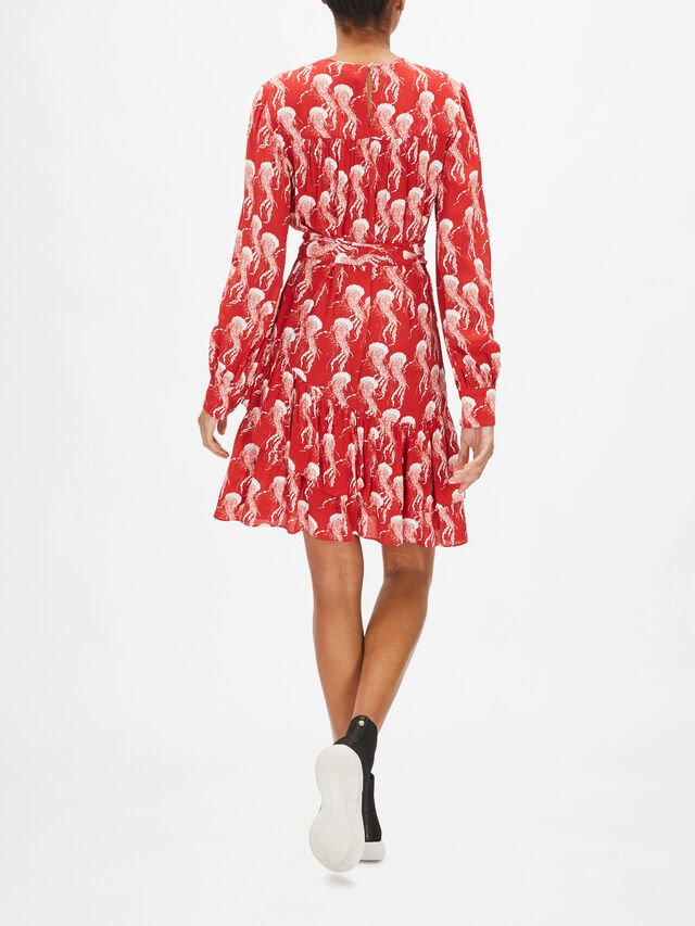 Jellyfish Shift Dress