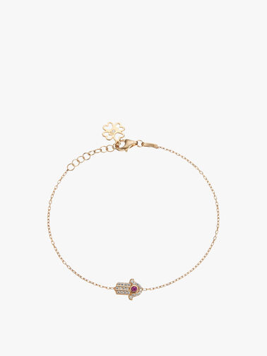Mini Hamsa Hand Bracelet